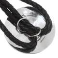 Native American Wedding Basket Bolo Tie Artist Signed 23394