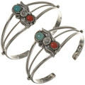 Native American Turquoise Cuff Bracelet 23296