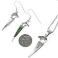 Southwest Gemstone Silver Pendant Jewelry 29561