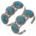 Ladies Turquoise Silver Jewelry 25852