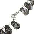 Navajo Sterling Gemstone Silver Necklace 29686