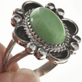 Turquoise Sterling Native American Ring 28689