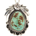 Native American Turquoise Pendant 29433