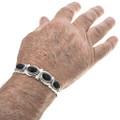 Navajo Gemstone Cuff Bracelet 29420