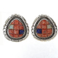 Southwest Inlaid Post Earrings 27905