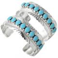 Traditional Turquoise Row Bracelet 16126