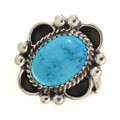 Turquoise Silver Ring 28915