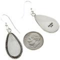 Navajo Teardrop Gemstone Earrings 28961