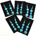 Natural Kingman Turquoise Earrings 29238