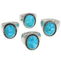 Sterling Silver Turquoise Ring 22834