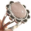 Navajo Sterling Pink Ladies Ring 28611