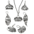 Hopi Overlaid Silver Pendant 29720