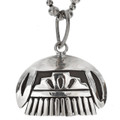 Hopi Clould Native American Sterling Pendant 29720