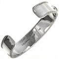 Navajo Sterling Silver Bracelet 29124