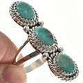 Southwest Turquoise Silver Ladies Ring 29110