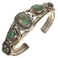 Navajo Turquoise Silver Cuff Bracelet 11236