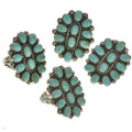 Variations in Turquoise Color and Matrix 28826