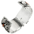 Handmade Heavy Gauge Silver Watch Cuff 16029