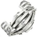 Navajo Sterling Cuff Bracelet 29018