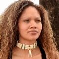 Authentic Indian Bone Choker 24137