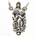 Sterling Silver Madonna Child Charm 34615