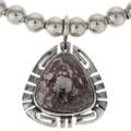 Wild Horse Magnesite Silver Necklace 27765