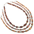 Native American Shell Choker Necklace 29486