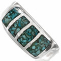 Light Blue Turquoise Navajo Ring 29764