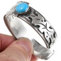 Native American Turquoise Cuff Bracelet 25119