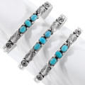Turquoise Silver Ladies Cuff 27365