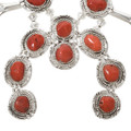 Old Pawn Style Squash Blossom Necklace 27896