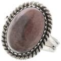 Navajo Rhodochrosite Ring 28284