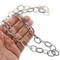 Southwest Lapis Link Necklace 27737