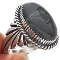 Native American Gemstone Mens Ring 23570