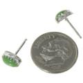 Navajo Green Stud Earrings 28457