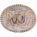 Custom Brand Iniitals Belt Buckle 28314