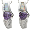 Opal Purple Gem Affordable Jewelry 17090