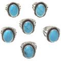 Robin's Egg Blue Turquoise Ring 28734