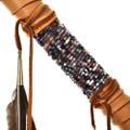 Buckskin Feathers Peace Pipe 28815