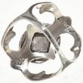 Sandcast Style Gemstone Ring 29014