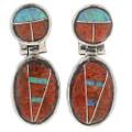 Navajo Post Dangle Earrings 27714