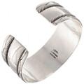 Mens Wide Silver Bracelet 24971