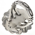 Native American Hammered Silver Ring 28946