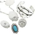 Navajo Turquoise Designer Jewelry 25138