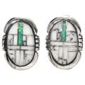 Inlaid Opal Post Earrings 29625