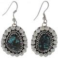 Turquoise Silver Drop Earrings 27667