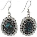 Turquoise Silver Drop Earrings 27667