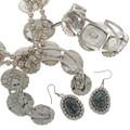 Navajo Necklace Ring Bracelet Set 27667