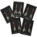 Silver Navajo Feather Earrings 29407