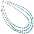 Native American Magnesite Necklaces 29265
